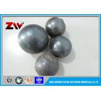 Quality Mineral Processing forged steel ball 60mn B2 HRC 60-68 High Hardness for sale