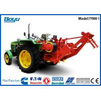Quality Self-propelled Pulling Tractor Machine Groove number 8 Bull wheel 450mm Max steel rope 18mm for sale