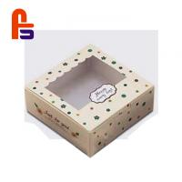 China Cute Patterns Non Toxic Material For Cake And Candy Paper Food Packing Box on sale