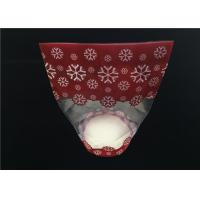 China Gravure Printing Round Bottom Cellophane Bags For Sugar Candy Bakery Food on sale