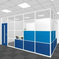 Quality Double-layer Tempered Glass Partition, Built-in Blind for sale