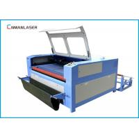 Quality Auto Feeding UP Down Table 100w 120w Wood Fabric Leather Cnc Laser Cutting Machine for sale