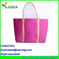 Quality natural straw beach bag for sale