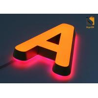 Mini Acrylic 3D LED Channel Letter Signs for Advertising Energy