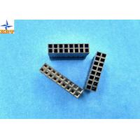 Quality LVDS Connector 2.54mm Pitch Dual Rows Power Connectors PBT Material Without Nose for sale