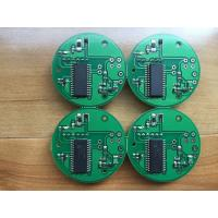 Quality 2 Layer Prototype PCBA Assembly 1OZ Green solder mask small boards makeup for sale