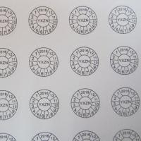 Buy Customized Print Destructible brittle Paper Warranty Label/Sticker/Seal at wholesale prices