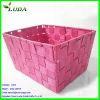 Quality Dyed Pink nylon material woven box for sale