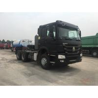 Quality Manual Operated Heavy Duty Tractor / Sinotruk Tractor Truck Max Speed 102 Km /H for sale