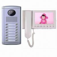 Quality Video Intercom System with 7-inch TFT LCD and Memory Function for sale