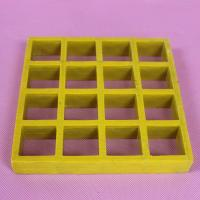 China Anti Slip Molded Fiberglass Grating For Drain Cover , Pool & Deck Floor on sale