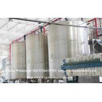 Quality Fully automatic stainless steel liquid syrup liquid glucose fructose manufacturing plant for sale for sale