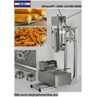 Quality TJ-12 Stainless Steel Commercial Churro Depositor And 12L Electric Fryer for sale