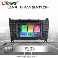 Quality Android 8.0 Mercedes Benz DVD Player With 4+32G BT WIFI DTV Google Map TPMS for sale