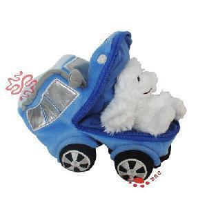 Plush Teddy Bear Car Toy