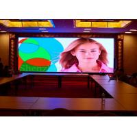 China Iron Cabinet Led Full Color Screen , P2.5 Indoor Led Video Wall 160000 Resolution on sale