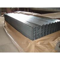 Quality Zinc coating 60-275g/m2 JIS G3302 SGCC Galvanized Corrugated Roofing Sheet for sale