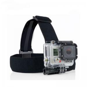Quality Action Camera Black Elastic Head Strap Mount For GoPro Hero 4 3 2 3+ 4 Session SJCAM SJ4000 SJ5000 Xiaoyi 4K for sale
