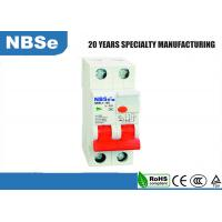 Quality 100mA ELCB Residual Current Circuit Breaker 2 Pole 63A 2 Module / Way for sale