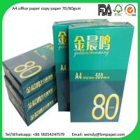 Quality A4 Copier Paper Indonesia 80 gsm/75 gsm/70 gsm Copier Papers for sale