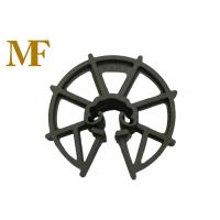 Quality Formwork Reinforced Plastic Rebar Clip Spacer Wheel 15-50 mm Thickness for sale