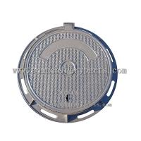 China Abrasion resistance CI Manhole Cover With Frame From China At Competitive Prices on sale