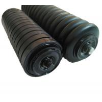 China rubber rings conveyor roller on sale