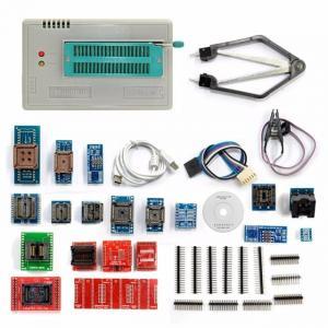 Quality Newest V6.5 Mini Pro TL866II PLUS Full Set Auto ECU Programmer With 21pcs Socket Adapters for sale