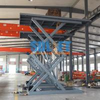 Quality 3 Ton 5M Hydraulic Scissor Car Lift Underground Car Parking Lift With CE for sale