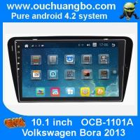 Quality Ouchuangbo GPS sat navi head unit VW Bora 2013 support 4 core canbus AUX USB for sale
