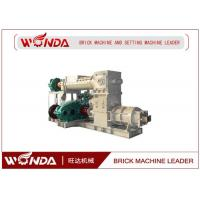 Quality Reamer Soild Clay Brick Making Machine , Clay Brick Extruder MachineLarge Output for sale