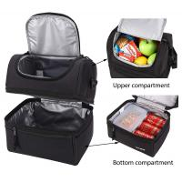 Buy Adult Lunch Box Insulated Lunch Bag Large Cooler Tote Bag for Men, Women, Double at wholesale prices