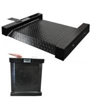 Quality 3000Kg 5x5 Digital Low Profile Floor Scale RS232 Output With Adjustable Feet for sale
