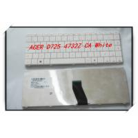 Quality Brand New Laptop Keyboard for Acer D525 D725 Nv40 White Color Us Keyboard for sale