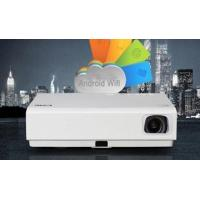 Quality Android WiFI HDMI LED Projector With 3D DLP Display Technology Built In Speaker for sale