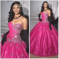 Quality 2012 New Sexy Sweetheart A-Line Sheath Jacket Paillette Beaded Ruffle Tulle Satin Quinceanera Dresses (QD-028) for sale