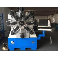 China 12 Axes Camless CNC Spring Coiling Machine For 2 - 6mm High Carbon Steel on sale