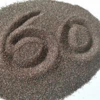 China F60 P60 Brown Fused Aluminum Oxide Resin Grinding 95% Min Al2O3 Grits Shape on sale