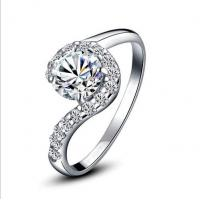 Quality Beautiful women rings wedding ring 2014 new silver jewelry  TJ0012 for sale