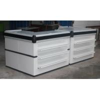 Quality Combination Double Side Express Checkout Counter For Supermarket / Boutique for sale