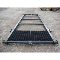Quality 2MM -10MM Steel Shipping Container Skid With PVC Powder Coated For Warehouses, Transport for sale