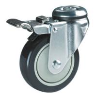 Quality hollow king pin swivel castors for sale