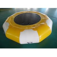 Quality Inflatable Water Bounce , Inflatable Water Park Entertainment Sports for sale