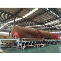 Quality PLC Control MDF Production Line Panel Energy Saving Size 2440 X 1220 MM for sale