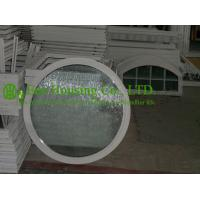 Quality White Color Aluminum Round Fixed Windows For Residential Home,10.38mm laminated glass for sale