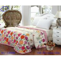 China 100% cotton printed quilt bedding sets on sale