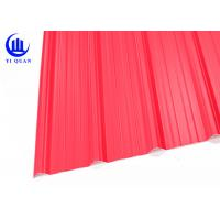 Quality Acid Proof APVC Corrugated Pvc Roofing Sheets Plain Roof Tiles for sale