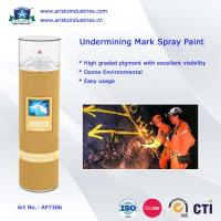 Quality Undermining Mark Spray Paint / Mine Marking Out Paint & Non-Flammable Layout Marker for sale