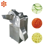 Quality 660Kgs / H Vegetable Processor Machine Ginger Garlic Food Cutter Machine for sale