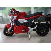 Buy cheap Direct Hub Motor Drive Electric Sport Motorcycle Disc Brake 70km / H Max Speed from wholesalers